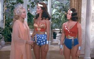 Hippolyta, Wonder Woman and Wonder Girl